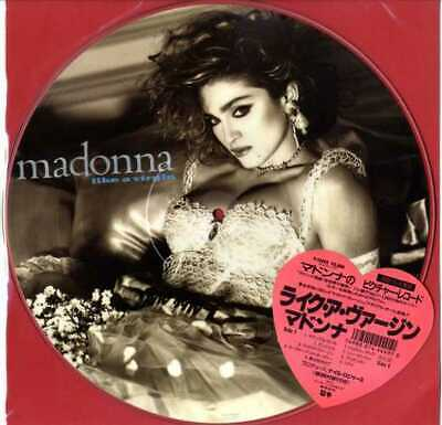 MADONNA - LIKE A VIRGIN JAPAN LP PICTURE DISC (P-15003) OFFICIAL with STICKER