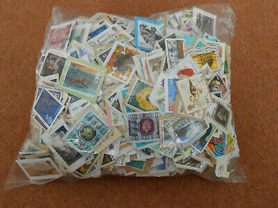 1 kg GB British Commemorative stamps on clipped down paper Kiloware. Bulk lot D.