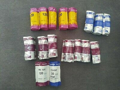 Expired 120 film Job Lot Portra Fujichrome Kodak Fuji etc vintage analog lomo
