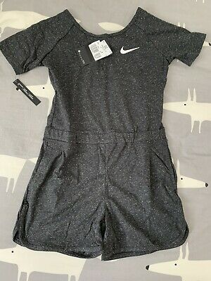New Nike Girls Summer Playsuit Age 10-12yrs