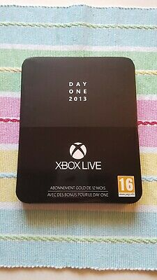 Xbox Live Steelbook Day One 2013