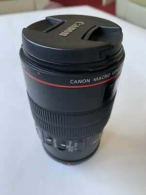 Canon EF 100mm f/2.8 EF IS L USM Macro Lens  In Excellent Condition