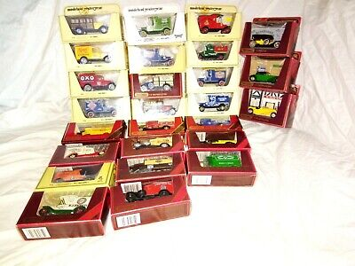 collection of matchbox models of yesteryear