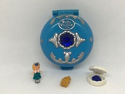 🦉100% Complete Vintage Polly Pocket Jewelled Sea1992 GREAT Condition 🌈🌈