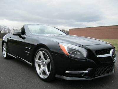 2013 Mercedes-Benz SL-Class SL 550 2013 MERCEDES BENZ SL550 MAGIC SKY 19'' AMG WHEELS HOT.COOL SEAT PREMIUM 1 PKG