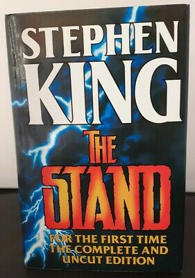 Stephen King The Stand Complete & Uncut Edition 1990 HB