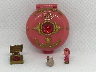🦉100% Complete Vintage Polly Pocket Jewelled Palace 1992 GREAT Condition 🌈🌈