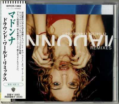 Madonna - Drowned World / Substitute For Love  (Remixes) Japan Cd Wpcr-1983