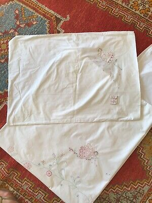 Little White Company Fairy Toddler Cot Bed Linen Set