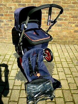 Bugaboo Cameleon 3 Limited Edition 'NEON' colour -Navy & Red-Very good condition