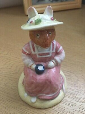 Royal Doulton Brambly Hedge Figurine - Mrs Saltapple - Boxed - Perfect