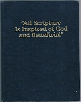 Watch Tower -All Scripture is Inspired of God (1990 edition)