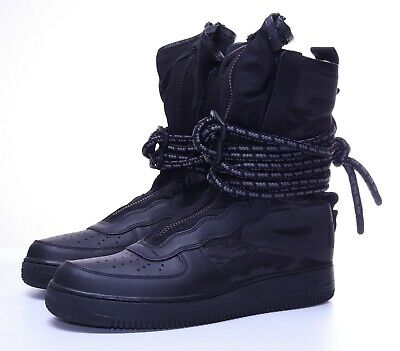 Nike SF Air Force 1 Hi BlackDark Grey AA1128 002