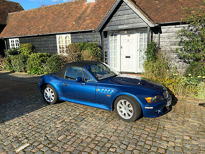2000 BMW Z3 Roadster 2.8L Blue