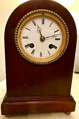 Clock Antique Striker. Stamped FC77 on Brass Movement. (Believed French)