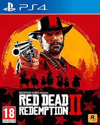 Red Dead Redemption 2 PS4 play station 4 FREE UK 1ST CLASS MAIL