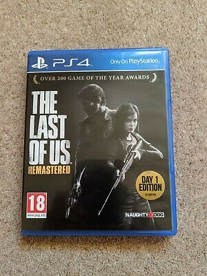 The Last of Us: Remastered - PS4. Mint Condition