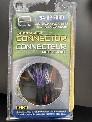 Ford (94 - 07) Car Stereo Radio Wiring Harness Connector Adaptor