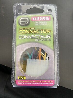 Mixed Imports (84 - 06) Car Stereo Wiring Connector