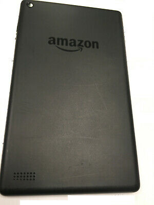 Fully working 16Gb 7th Gen Black Amazon Kindle Fire 7 tablet (K)
