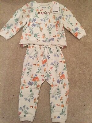 Next 2 Piece Set Jumper And Trousers Baby Girl (18-24) BNWT