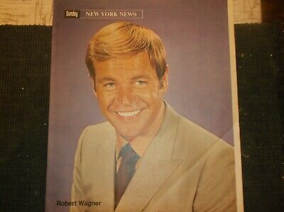 Vintage New YorkSup.Oct20,1969 /ROBERT WAGNER Cover/Goldwater Jr/D.DelRio/QE2