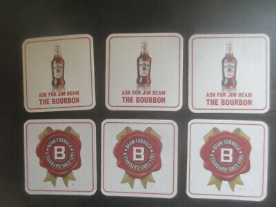 9 different  COUGAR  Bourbon Australian Issue only Spirit COASTERS