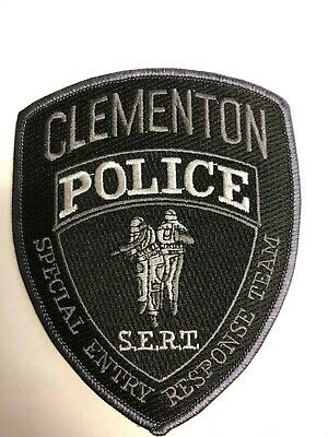 Clementon New Jersey Subdued SWAT/SERT Police Patch