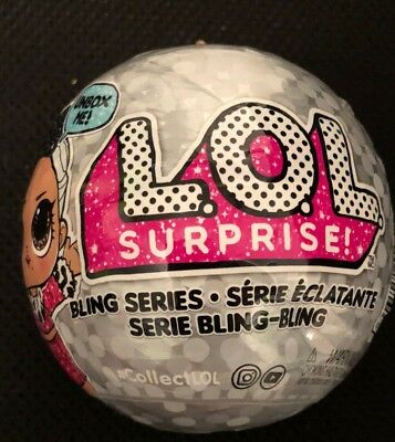 LOL Surprise Doll BLING Series New GOLD BALL