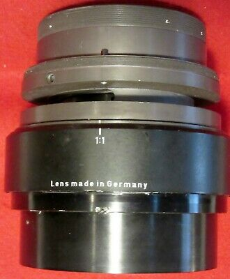 LARGE PHOTO ENLARGEING LENS ~ Made in GERMANY ~ FISHEYE LENS