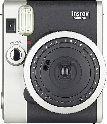 Fujifilm Instax Mini 90 Neo Classic Camera, Instant Film Camera, USA - Black