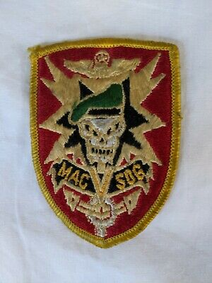 Vietnam Special Forces MACV SOG Team Patch - Owned since early 80s - Vintage+
