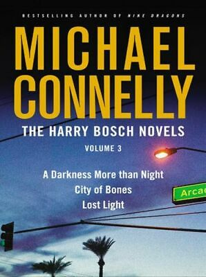 Michael CONNELLY / HARRY BOSCH Collection Vol III - 3 books in 1   [ Audiobook ]