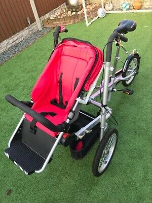 trycycle mother and baby bike in good condition and certainly eye catching