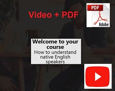 Learn English Speaking Course – How To Speak English Fluently_Videos + PDF