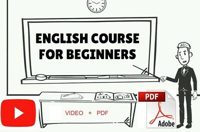 Learn English__English Course for Beginners (A1, A2, A2+) Videos + PDF