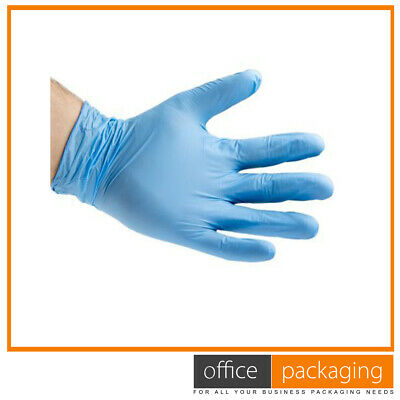 Disposable Gloves Blue Multipurpose Strong Powder Latex Free Gloves