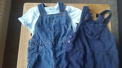 Marks and spencer baby dungaree bundle 12-18 months