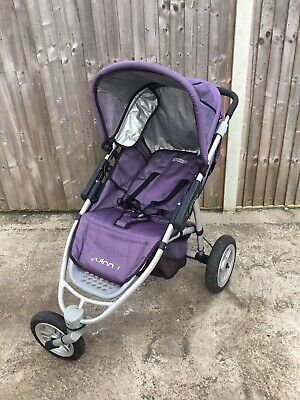 Quinny Speedi 3 Wheels Pushchair In Purple - Collection Only