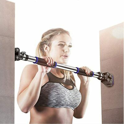 Doorway Pull Up Chin Up Bar Upper Body Workout Bars Home Gym Exercise Fitness