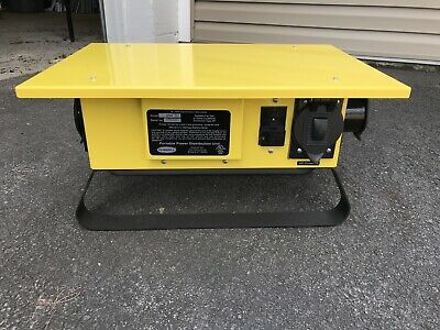 HUBBELL TPDS Straight Distribution Box