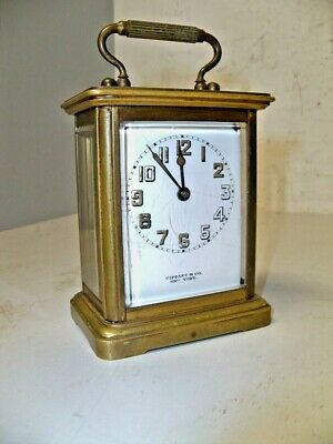 Chelsea Clock Co Carriage Clock By Tiffany & Co
