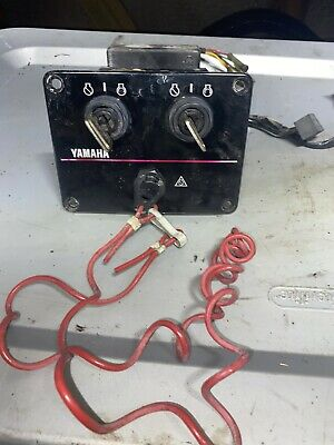 Yamaha Outboard Dual Key Switches With Kill Switch A3