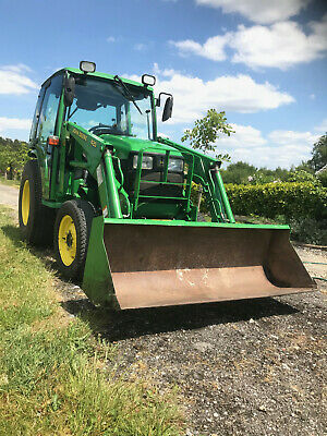 John Deer 4300 Compact Tractor With Front Loader