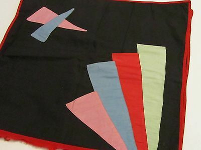 2 Vintage Pillow Case Covers - Hand Made - Deco Design -  Unused