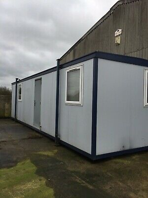 Mobile Double Plastisol Office 32ft by 10ft