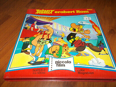 Super 8 Film Asterix erobert Rom - 120m/color/Ton - Farben noch gut