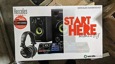 Hercules All-In-One Kit DJLearning- Speakers, Headphones, DJ Controller Included