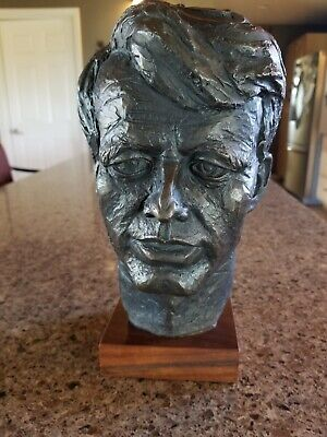 """Robert """"Bobby"""" Kennedy Bust by Austin Production's 1968"""