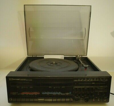 Emerson M2336 Stereo Dual Cassette and Turntable System